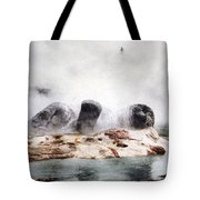Grotto Geyser Yellowstone National Park Tote Bag
