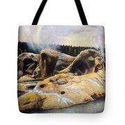 Grotto Geyser Yellowstone Np 1928 Tote Bag