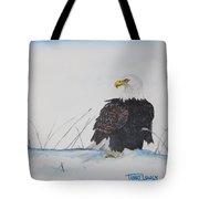 Ground Eagle Tote Bag