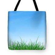 Ground Grass And Sky Tote Bag