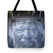 ground mosaic in the cultural center of Granada Nicaragua Tote Bag