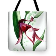 Ground Orchid Tote Bag