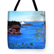 Grounded Iceberg Tote Bag