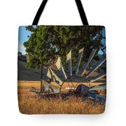 Grounded Windmill Tote Bag