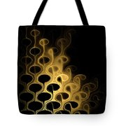Grouped In Gold Tote Bag