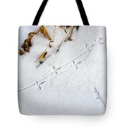 Grouse Tracks Tote Bag