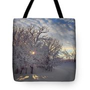 Grove And Road - Winter Tote Bag