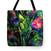 Growing Together In Love Tote Bag