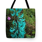 Growing Turquoise Tote Bag