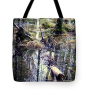 Nature Is Growing Up And Sinking Down  Tote Bag