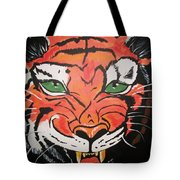 Growling Tiger Tote Bag