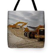 Grownup's Sandbox Tote Bag