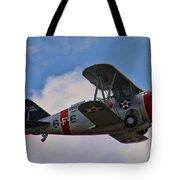 Grumman F3f-2 Bi-plane Tote Bag