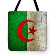 Grunge Algeria Flag Tote Bag