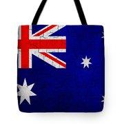 Grunge Australia Flag Tote Bag