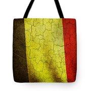 Grunge Belgium Flag Tote Bag