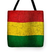 Grunge Bolivia Flag Tote Bag
