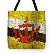 Grunge Brunei Flag Tote Bag