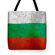 Grunge Bulgaria Flag Tote Bag