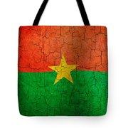 Grunge Burkina Faso Flag Tote Bag