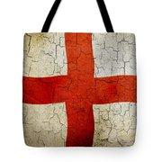 Grunge England Flag Tote Bag