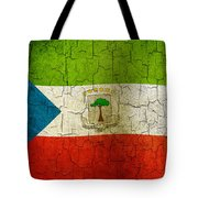 Grunge Equatorial Guinea Flag Tote Bag