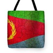 Grunge Eritrea Flag Tote Bag