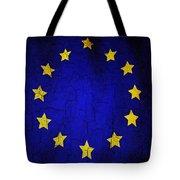 Grunge European Union Flag Tote Bag