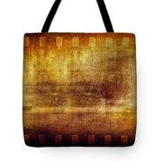 Grunge Filmstrip Tote Bag