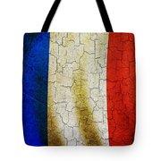 Grunge France Flag Tote Bag