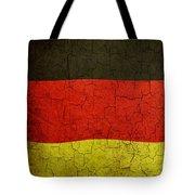 Grunge German Flag Tote Bag