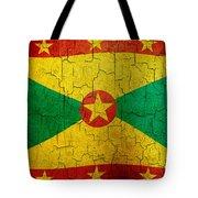 Grunge Grenada Flag Tote Bag