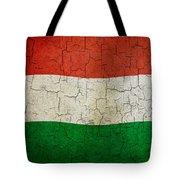 Grunge Hungary Flag Tote Bag