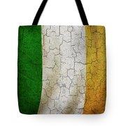 Grunge Ireland Flag Tote Bag