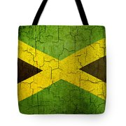 Grunge Jamaica Flag Tote Bag