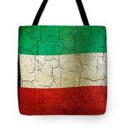 Grunge Kuwait Flag Tote Bag