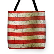 Grunge Liberia Flag Tote Bag