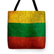 Grunge Lithuania Flag Tote Bag