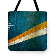 Grunge Marshall Islands Flag Tote Bag