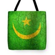 Grunge Mauritania Flag Tote Bag