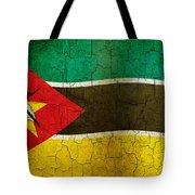 Grunge Mozambique Flag Tote Bag