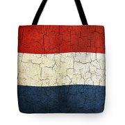 Grunge Netherlands Flag Tote Bag