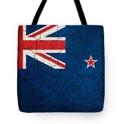 Grunge New Zealand Flag Tote Bag