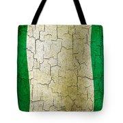 Grunge Nigeria Flag Tote Bag