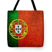 Grunge Portugal Flag Tote Bag