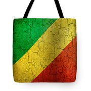 Grunge Republic Of The Congo Flag Tote Bag
