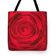 Grunge Rose Tote Bag
