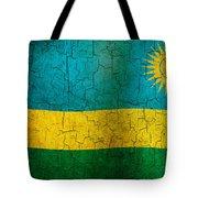 Grunge Rwanda Flag Tote Bag