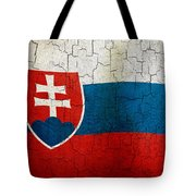 Grunge Slovakia Flag Tote Bag