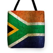 Grunge South Africa Flag Tote Bag